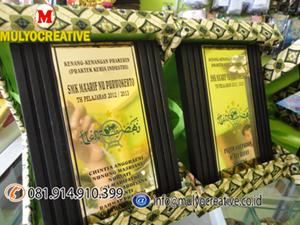 Plakat Kayu, Vandel Kayu, Tropy kayu, Piala Kayu