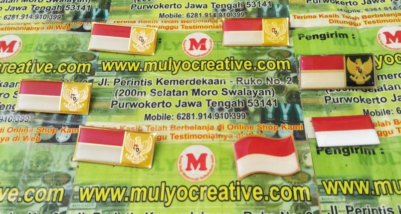 Pin Bendera Lencana Indonesia