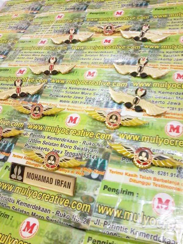 Wing Pramuka + Nametag Pramuka
