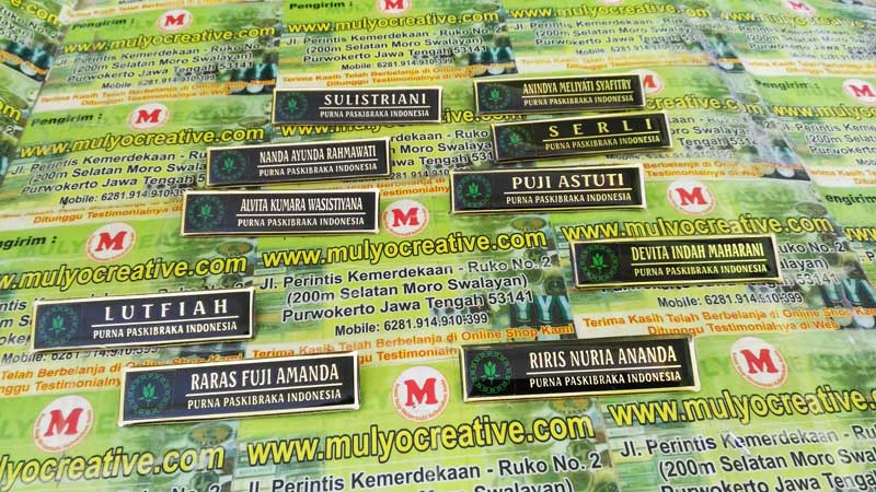 Name Tag Purna Paskibra Indonesia