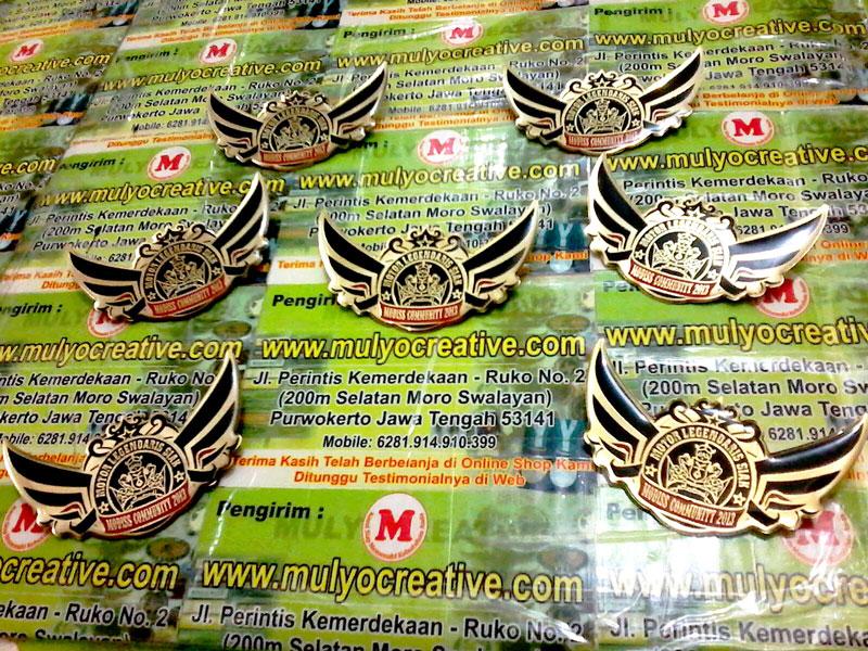 Wing Lencana Komunitas Motor Legendaris Siak