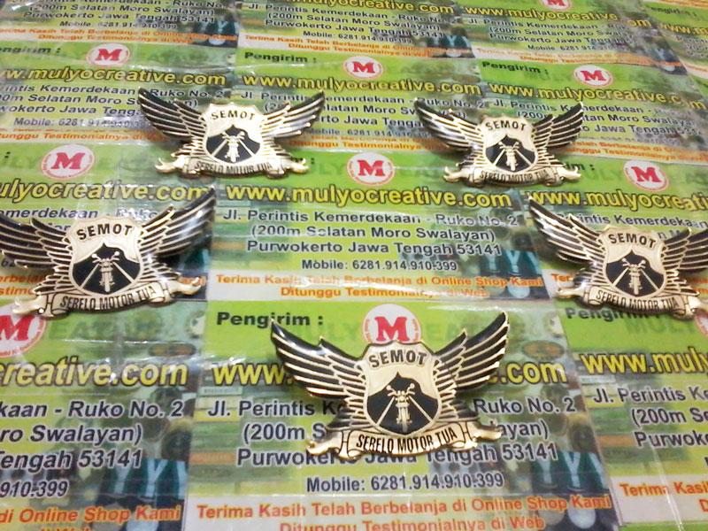 Lencana Wing Club Semot Serelo Motor Tua