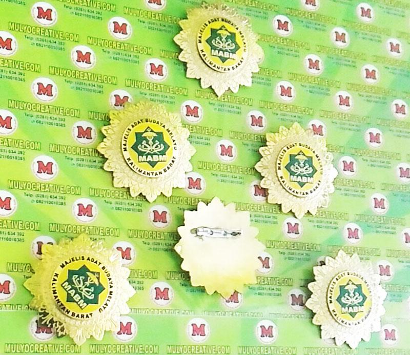 Lencana Logo Majelis Adat Budaya Melayu Kalimantan Barat