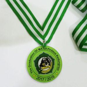 Medali wisuda murah, dari bahan akrilik