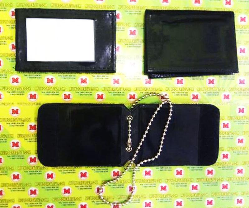 Macam-macam dompet model Id Card, Dompet Kalung Lencana, Dompet Lencana/ Kwenangan