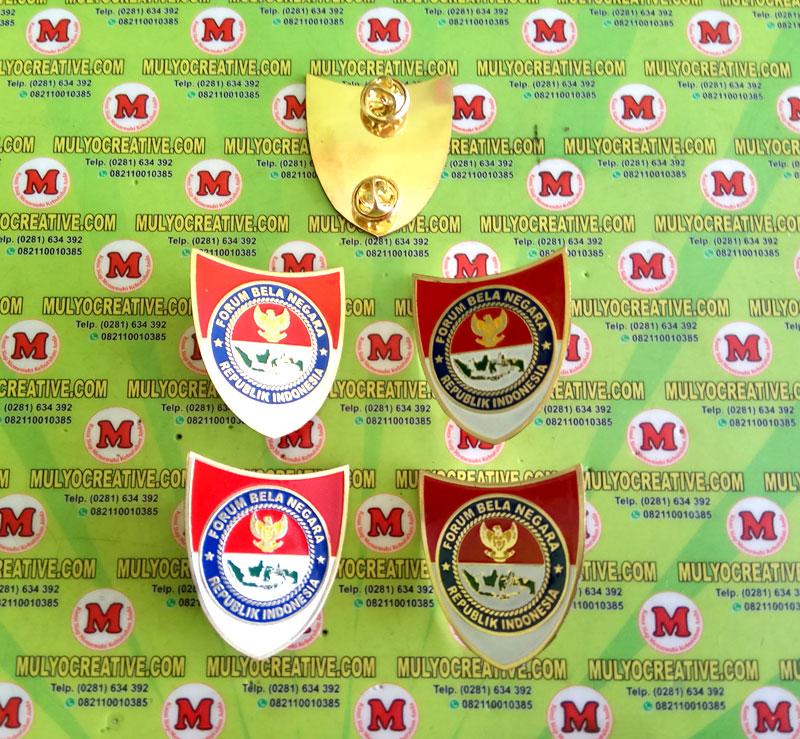 Lencana Pin Emblem Bela Negara